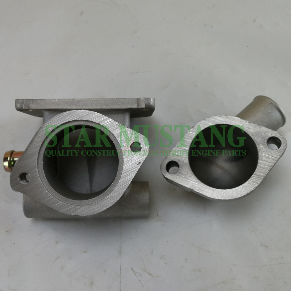 Construction Machinery Excavator C240 Thermostat Upper Lower Seat Engine Repair Parts