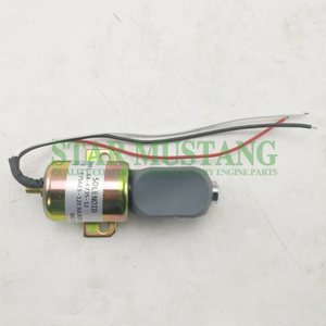 Construction Machinery Excavator R200-5 Shut Off Solenoid 12V Engine Repair Parts SA-4735-12