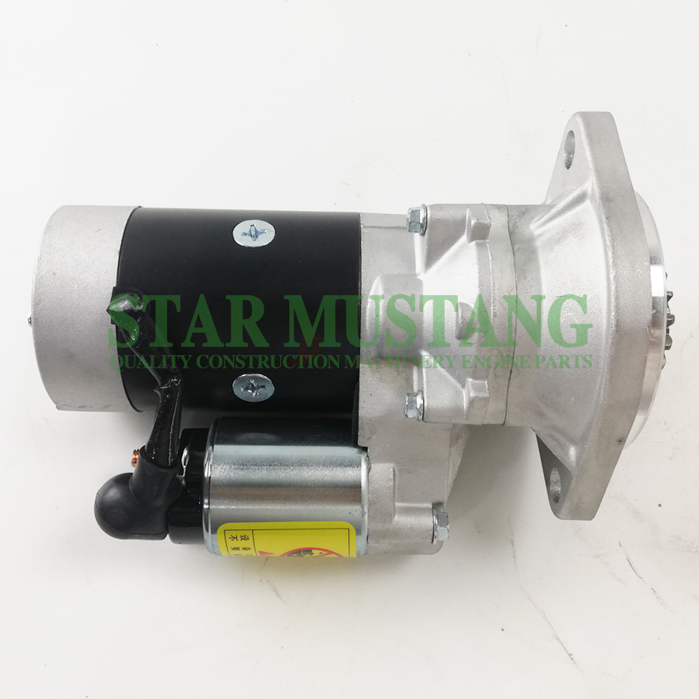Construction Machinery Excavator 4TNE84 Starter Motor Engine Repair Parts 171008-77010