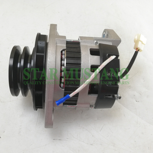 Construction Machinery Diesel Engine Spare Parts Excavator Alternator D6AC 6D22 24V 70A