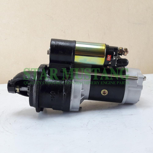 Construction Machinery Diesel Engine Spare Parts Excavator Starter Motor F6L912 5.2KW 24V