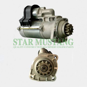 Construction Machinery Diesel Engine Spare Parts Excavator Starter Motor WD615