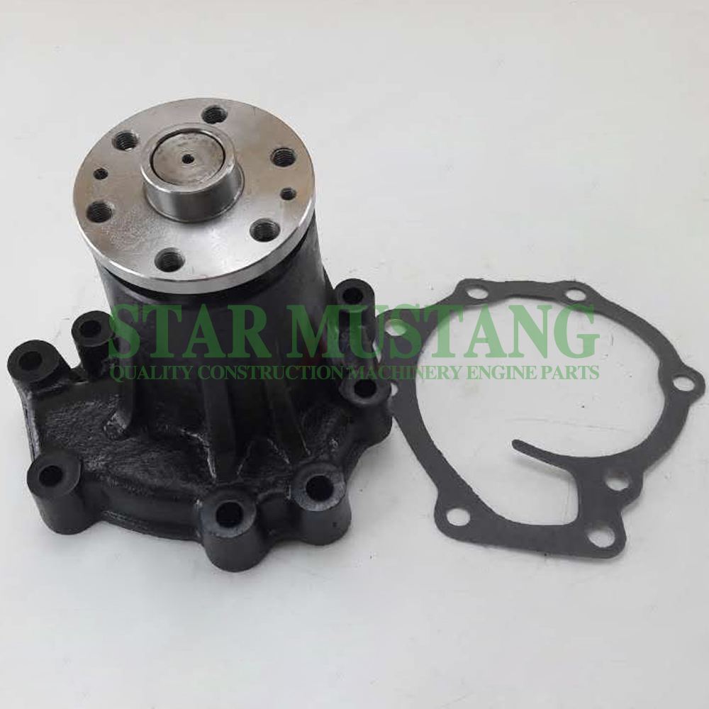 Construction Machinery Excavator 4HK1 Water Pump 6 Holes Engine Repair Parts