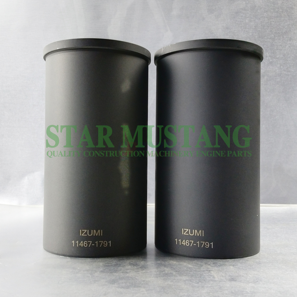 Construction Machinery Excavator N04C Cylinder Liner Engine Repair Parts