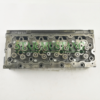 Construction Machinery Excavator V2403 Cylinder Head Assembly 16 Valves Engine Repair Parts