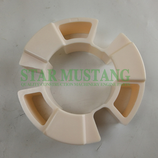 Excavator Parts Rubber Coupling 4JG1 CF-H-035 For Construction Machinery