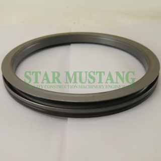 Construction Machinery Excavator Engine Spare Parts Crankshaft Rear Oil Seal Kit D2366 BZ6254E