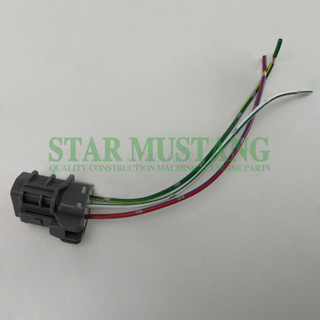 Construction Machinery Excavator HD-Y1754 Throttle Motor 3 Wires Plug Electronic Repair Parts