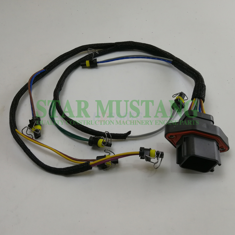 Construction Machinery Excavator C9 Injector Wiring Harness Electronic Repair Parts