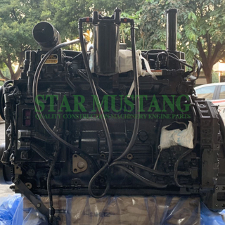 Construction Machinery Excavator PC220-8 Diesel Engine Assembly Original Repair Parts