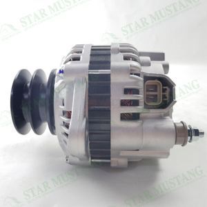 Construction Machinery Excavator 4D34 SK200-6E Alternator 24V 45A Repair Parts