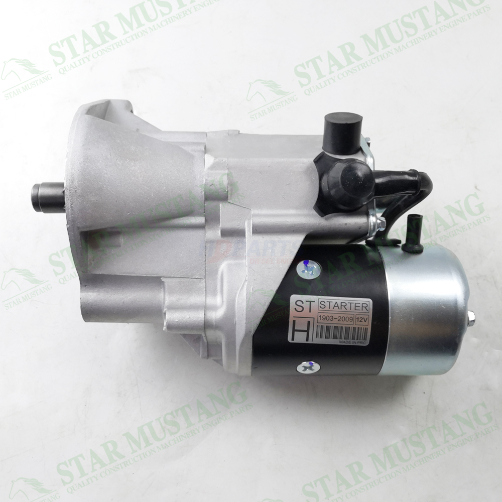W04D Starter Motor 12V 11T 3.2KW Construction Machinery Excavator Engine Parts