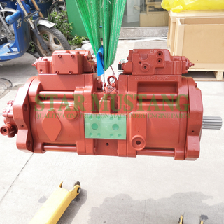K3V112DT Hydraulic Pump 14T Red Construction Machinery Excavator Repair Parts