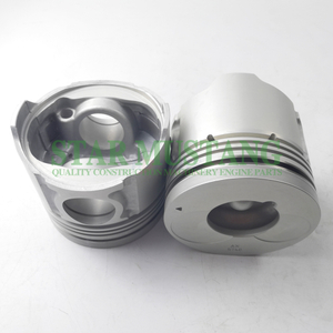 Construction Machinery Excavator 6BG1-4R Piston With Pin Round Bottom Engine Repair Parts