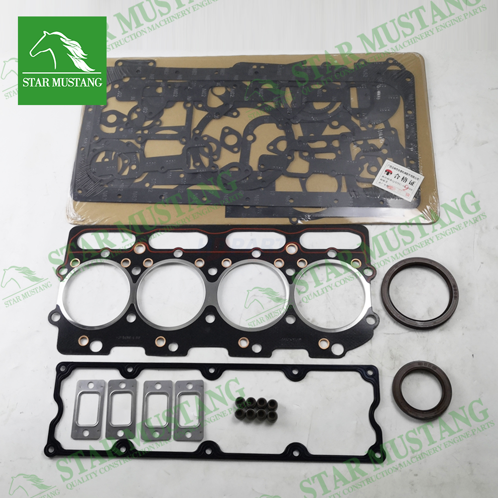 Excavator Machinery Engine YC4D130-33 Full Gasket Kit Overhaul Head Set Repair Parts