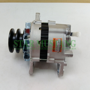 Construction Machinery Diesel Engine Spare Parts Excavator SM Alternator 6D14 E200B SK200 24V 35A