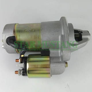 Construction Machinery Diesel Engine Spare Parts Excavator Starter Motor 3TNE84