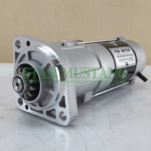 Construction Machinery Diesel Engine Spare Parts Excavator Starter Motor D6D D7D 24V 12T