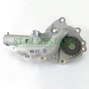 Construction Machinery Excavator J05E Oil Pump Engine Repair Parts