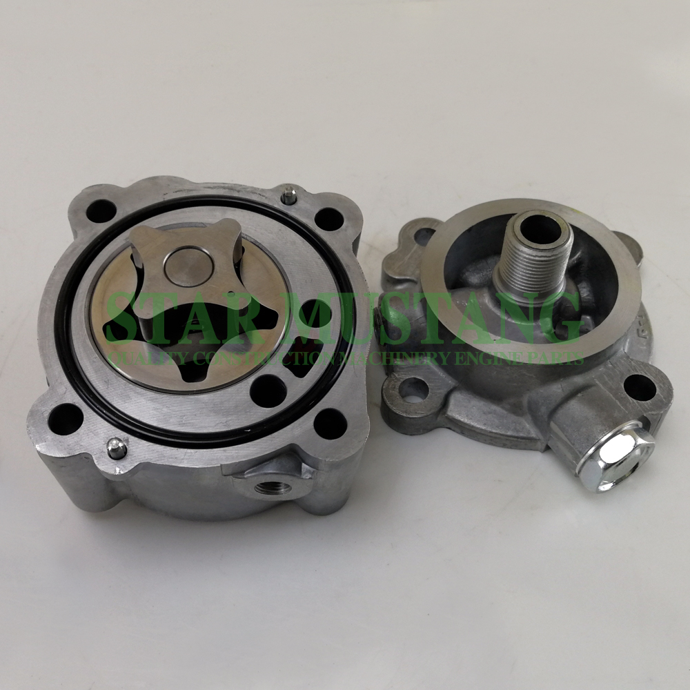 Machinery Excavator K4N Oil Pump Original Engine Repair Parts MM430-32601