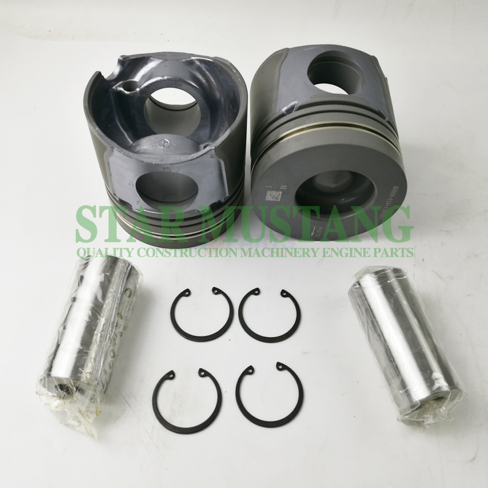 Construction Machinery Excavator CA6DF1-12GG2 Piston With Pin Engine Repair Parts