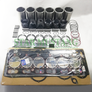 Construction Machinery Excavator YC6108G Overhaul Repair Gasket Kit Diesel Engine Piston Liner Repair Parts