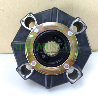 Excavator Parts Rubber Coupling E200B 14T For Construction Machinery