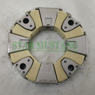 Excavator Parts Rubber Coupling Assy 160H For Construction Machinery