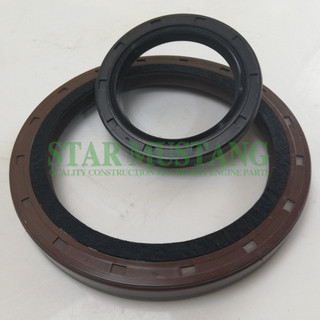 Construction Machinery Excavator Engine Spare Parts Crankshaft Oil Seal Kit 6BG1 EX Without Iron/Metal
