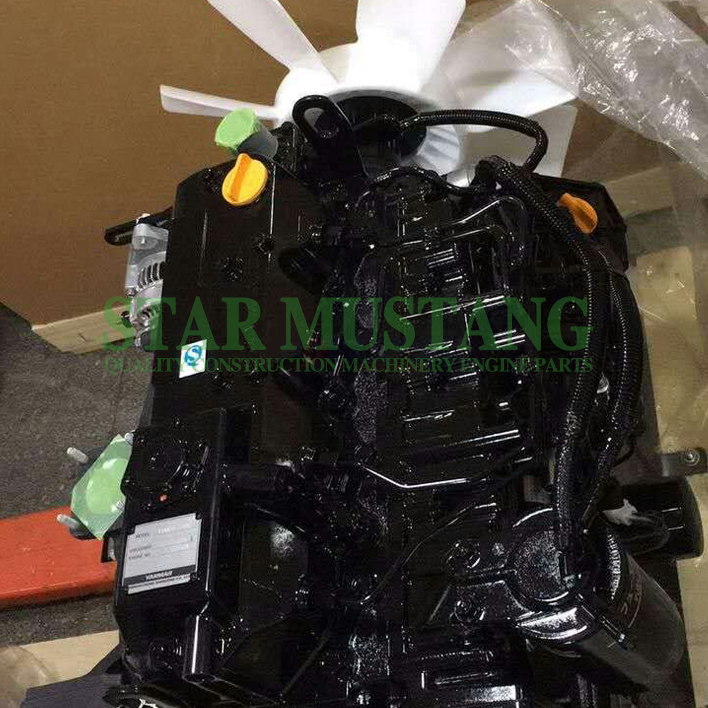 Construction Machinery Excavator 4TNV98 Diesel Engine Assembly Repair Parts