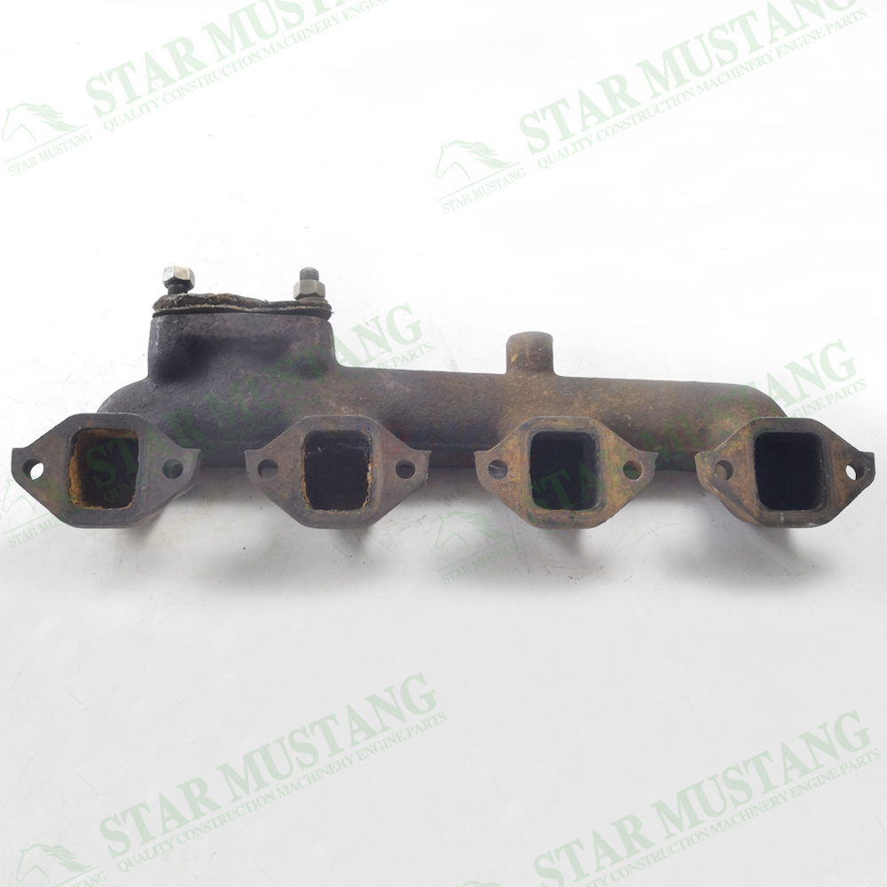 S4Q2 Exhaust Manifold Construction Machinery Excavator Engine Repair Parts Second-Hand