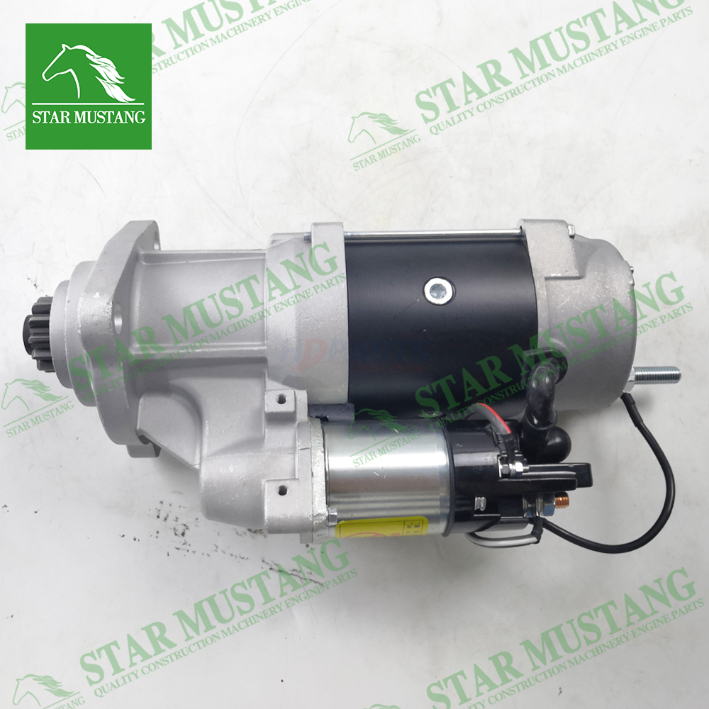6D114 PC360-7 Starter Motor 24V 12T 9KW Construction Machinery Excavator Engine Parts