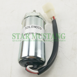 Construction Machinery Excavator HD-4355 Shut Off Solenoid 12V Engine Repair Parts