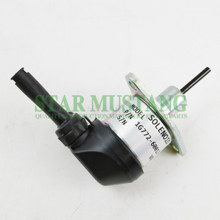 Construction Machinery Excavator HD-4332 Shut Off Solenoid 12V Engine Repair Parts
