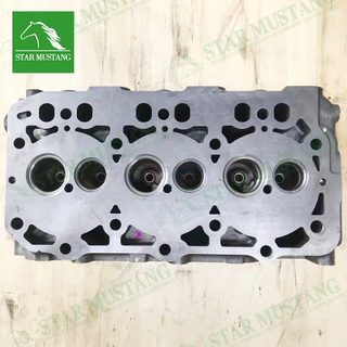 Construction Machinery Excavator 3D84-3 3TNV84 Cylinder Head Engine Repair Parts