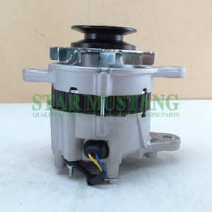 Construction Machinery Diesel Engine Spare Parts Excavator Alternator S4F 24V 40A