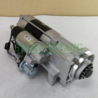 Construction Machinery Diesel Engine Spare Parts Excavator Starter Motor D7D EC240 24V 12T