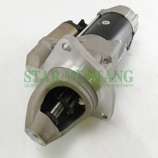 Construction Machinery Diesel Engine Spare Parts Excavator Starter Motor S6B3 11T
