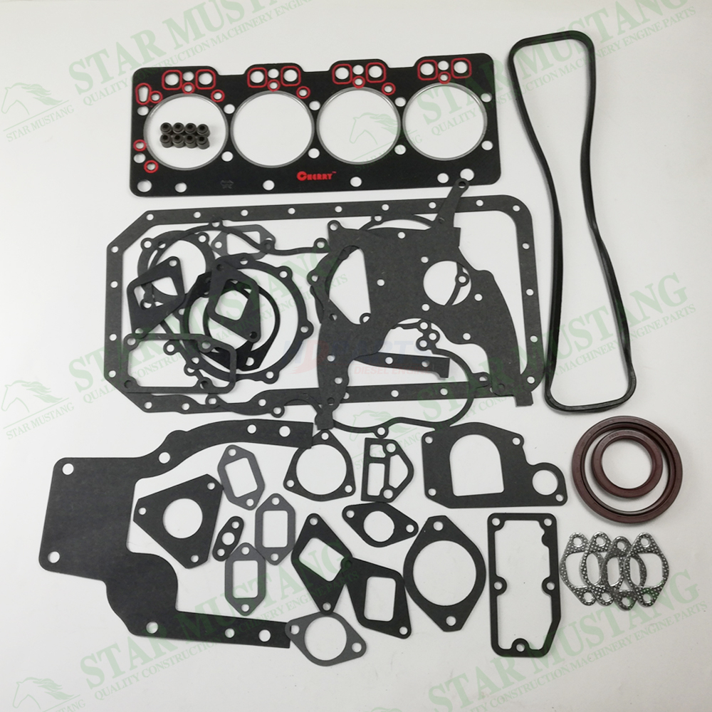 Construction Machinery Excavator 490BPG Full Gasket Kit Diesel Engine Overhaul Repair Parts