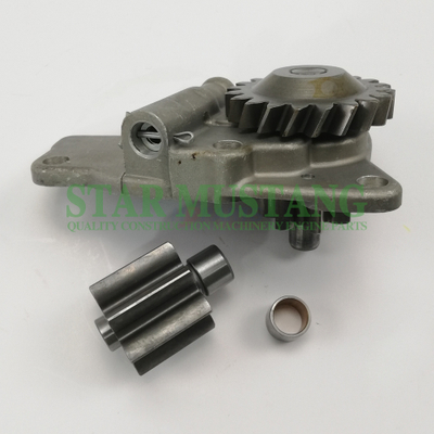 Construction Machinery Excavator PC200-6 6D95 Oil Pump 20 Teeth Engine Repair Parts