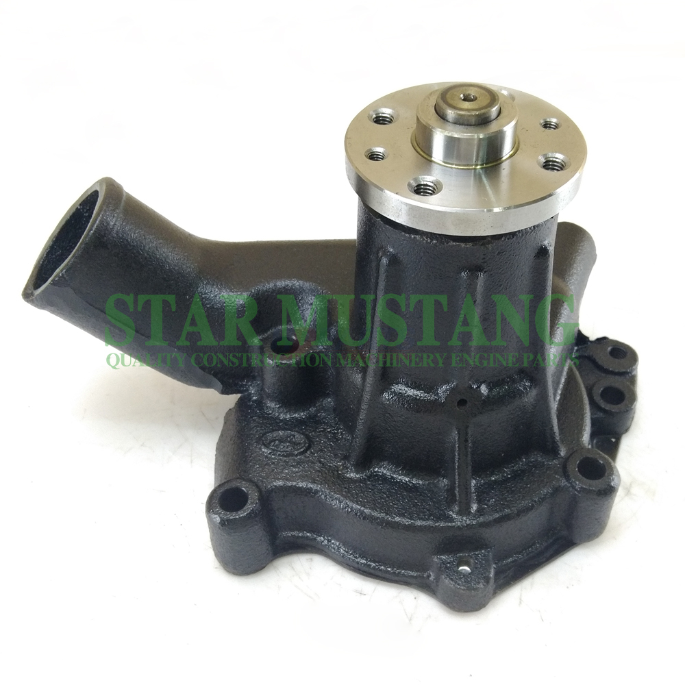 Construction Machinery Excavator 6BD1 Water Pump 4 Holes Engine Repair Parts