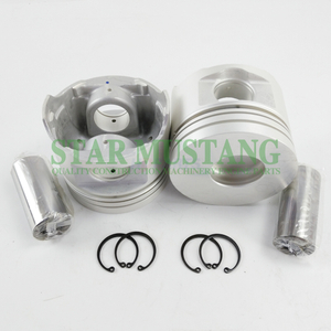 Construction Machinery Excavator 14B Piston With Pin Engine Repair Parts 13101-58040 13101-58041