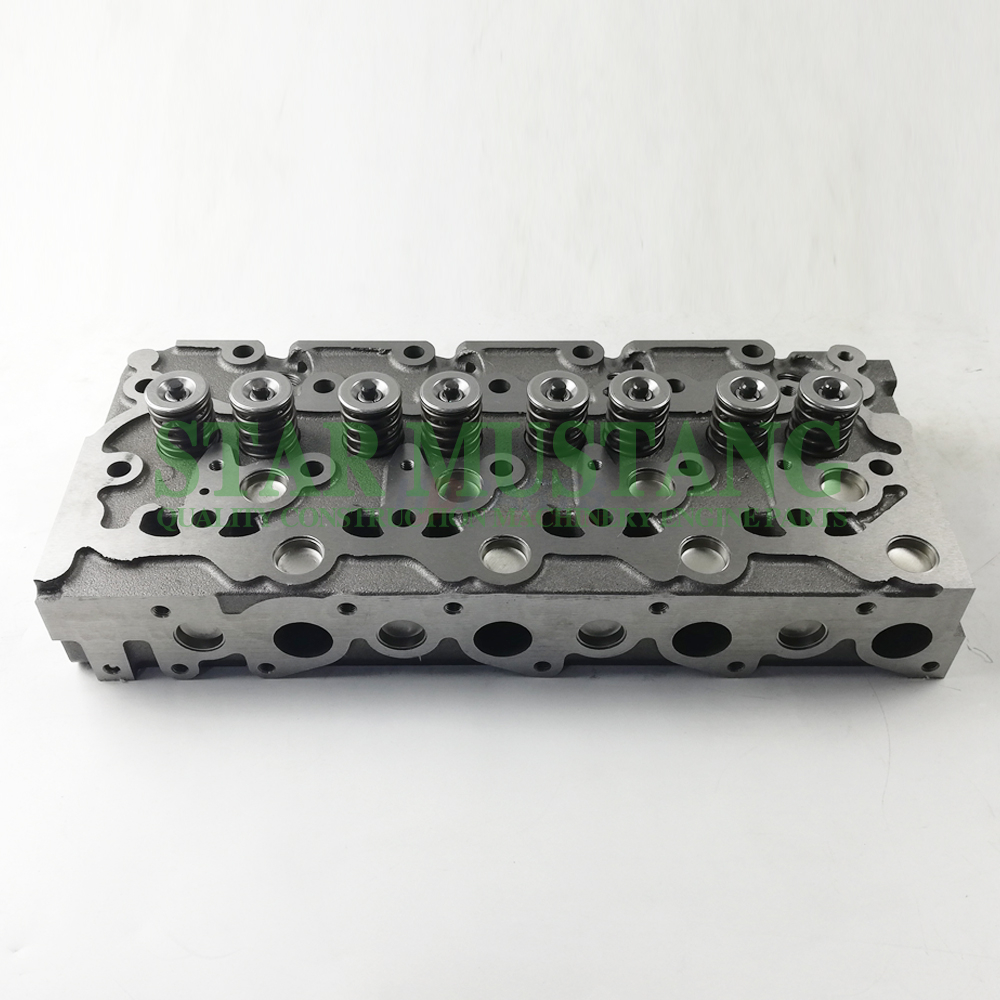 Construction Machinery Excavator V1903 Cylinder Head Assembly Engine Repair Parts