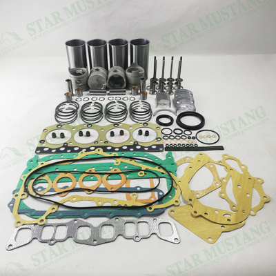 C221 Cylinder Liner Piston Ring Valve Gasket Kit Bearing Bush Water Pump Engine Repair Kit Parts