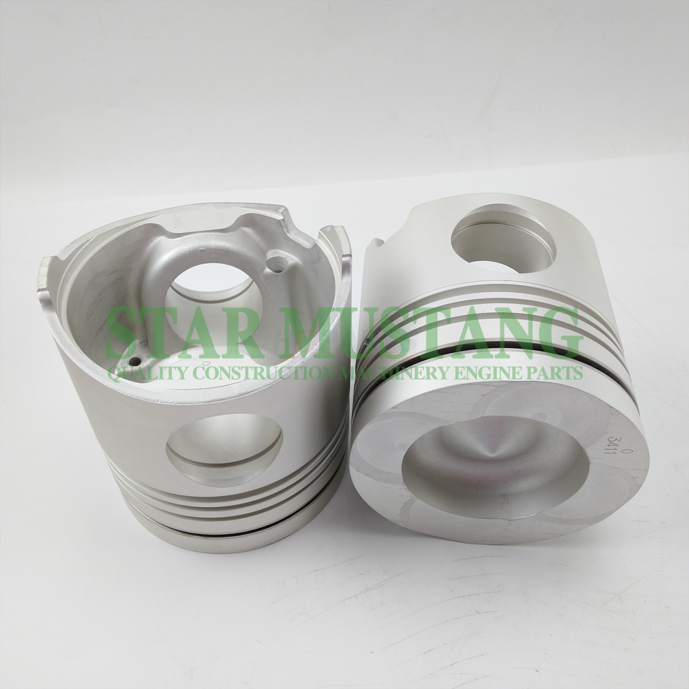 Excavator Diesel Engine Spare Parts Cylinder Piston K13C 24V 13216-2330 Chamber Diameter 83mm