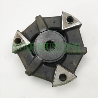 Excavator Parts Rubber Coupling 4TNE88 Ourter diameter 165mm For Construction Machinery