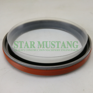 Construction Machinery Excavator Engine Spare Parts Crankshaft Rear Oil Seal Kit 6D102