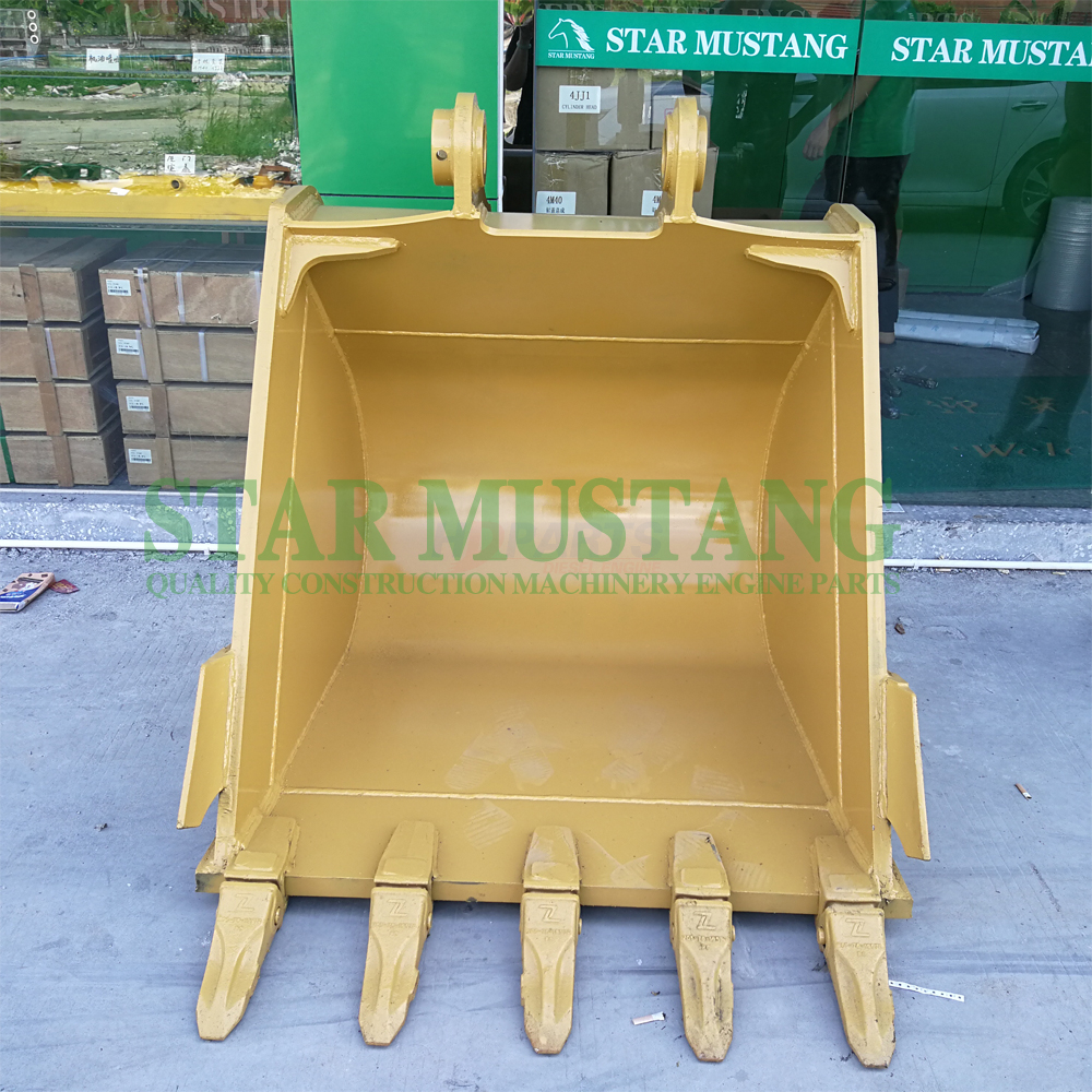 Excavator Spare Parts Bucket Assembly PC200-8 Thicken