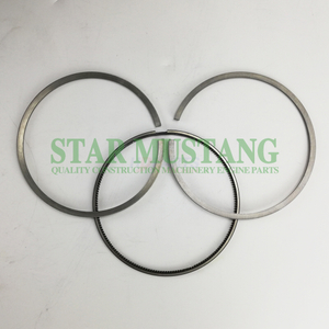 Construction Machinery Excavator D12D Piston Ring Sets Engine Repair Parts