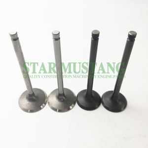 Construction Machinery Excavator 6D15 Cylinder Head Valve Engine Repair Parts ME031939